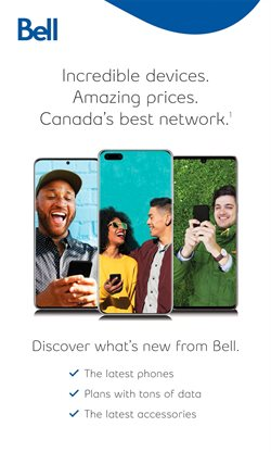 tablet deals in the Bell catalogue ( 5 days left)