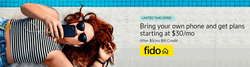Fido deals in the Toronto flyer