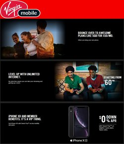 Electronics deals in the Virgin Mobile catalogue ( 2 days left)