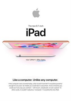 Apple deals in the Quebec flyer
