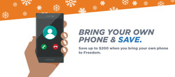 Freedom Mobile deals in the Toronto flyer