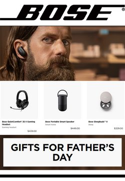 Bose deals in the Bose catalogue ( Expired)