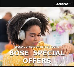 Bose deals in the Bose catalogue ( 3 days left)