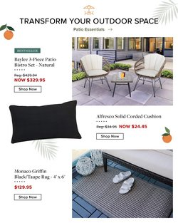 Home & Furniture deals in the Linen Chest catalogue ( 3 days left)