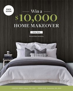 Home & Furniture deals in the Linen Chest catalogue ( More than a month)