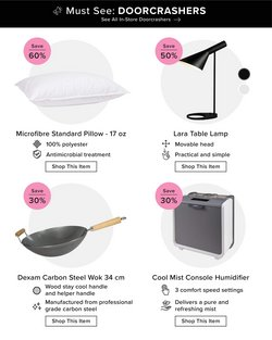 Home & Furniture deals in the Linen Chest catalogue ( Expires today)