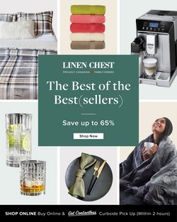 Home & Furniture deals in the Linen Chest catalogue ( Published today)