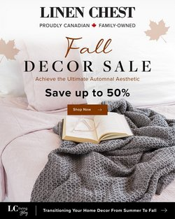 Home & Furniture deals in the Linen Chest catalogue ( 1 day ago)