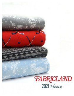 Fabricland catalogue ( More than a month )