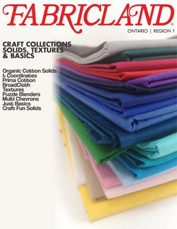 Fabricland catalogue ( 18 days left )