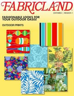 Fabricland catalogue ( 1 day ago )