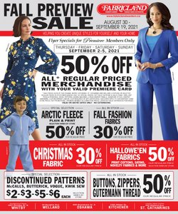 Home & Furniture deals in the Fabricland catalogue ( 2 days left)