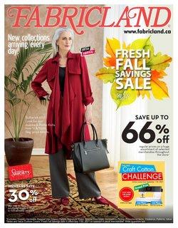 Fabricland catalogue ( 13 days left)