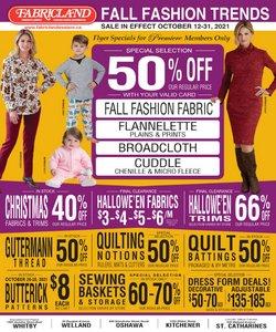 Fabricland catalogue ( 11 days left)
