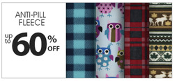 Fabricland deals in the Parksville flyer