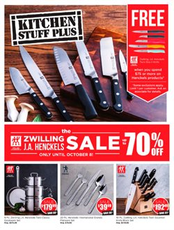 Kitchen Stuff Plus deals in the Toronto flyer