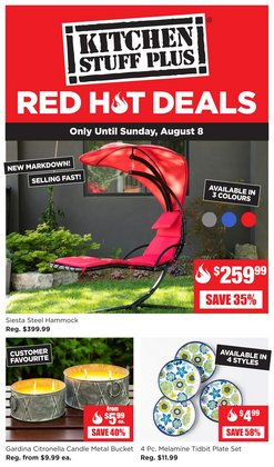 Home & Furniture deals in the Kitchen Stuff Plus catalogue ( 1 day ago)