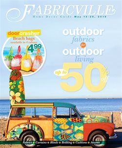 Fabricville deals in the Quebec flyer