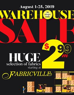 Home & Furniture offers in the Fabricville catalogue in Truro