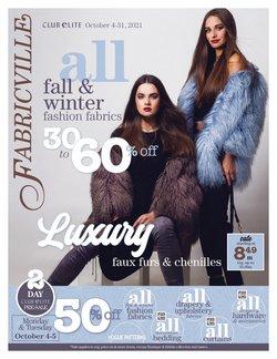 Fabricville catalogue ( 11 days left)