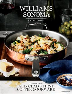 Williams Sonoma deals in the Toronto flyer