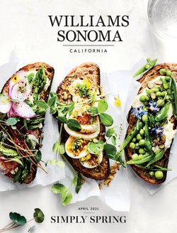 Easter deals in the Williams Sonoma catalogue ( More than a month)