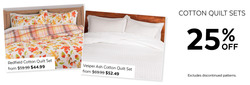 Quilts Etc deals in the Vancouver flyer