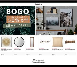Home & Furniture offers in the Bouclair Home catalogue in Vancouver