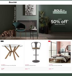 Bouclair Home catalogue in Montreal ( Published today )