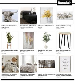 Home & Furniture offers in the Bouclair Home catalogue ( 8 days left )