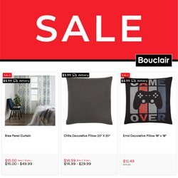 Home & Furniture deals in the Bouclair Home catalogue ( 27 days left)