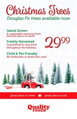 Quality Foods deals in the Nanaimo flyer