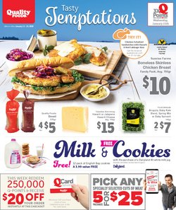 Quality Foods deals in the Parksville flyer