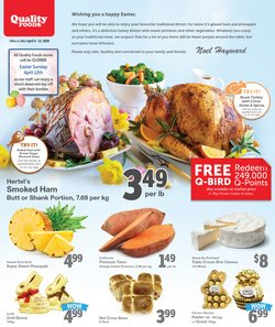 Quality Foods catalogue ( Published today )