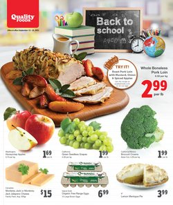 Grocery deals in the Quality Foods catalogue ( Expires today)