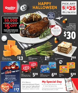 Grocery deals in the Quality Foods catalogue ( Published today)