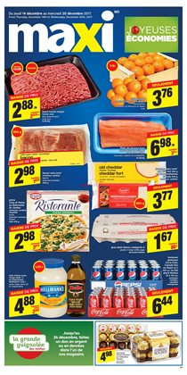 Maxi deals in the Saint-Hyacinthe flyer