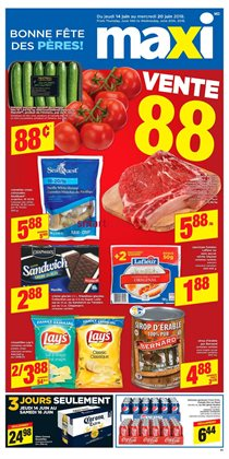 Maxi deals in the Sherbrooke QC flyer