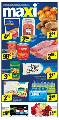 Grocery offers in the Maxi catalogue in Rouyn-Noranda