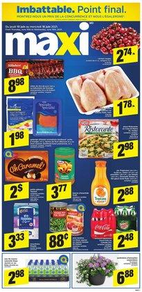 Maxi deals in the Maxi catalogue ( 27 days left)