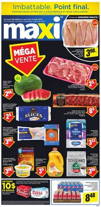 Grocery deals in the Maxi catalogue ( Expires tomorrow)