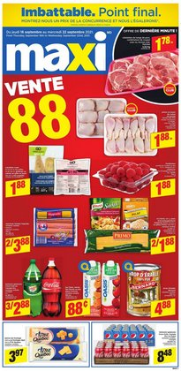 Grocery deals in the Maxi catalogue ( 3 days left)
