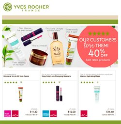 Yves Rocher deals in the Montreal flyer