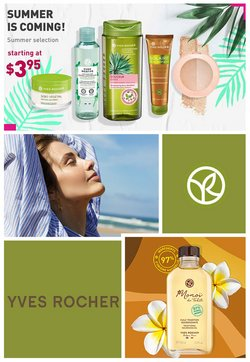 Pharmacy & Beauty deals in the Yves Rocher catalogue ( Expires today)