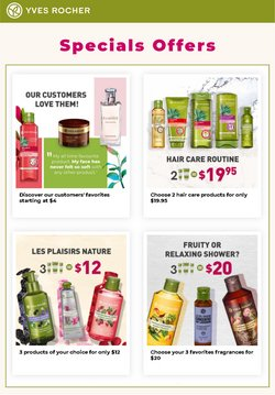 Yves Rocher deals in the Yves Rocher catalogue ( 3 days left)