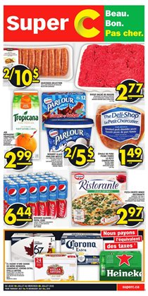 Super C deals in the Montreal flyer