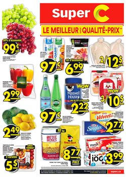 Grocery offers in the Super C catalogue in Rouyn-Noranda