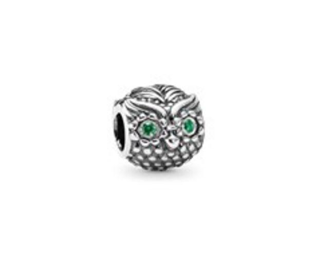 Wise Owl, Dark Green CZ discount at $55