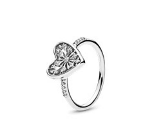 Heart of Winter Ring, Clear CZ - FINAL SALE discount at $75