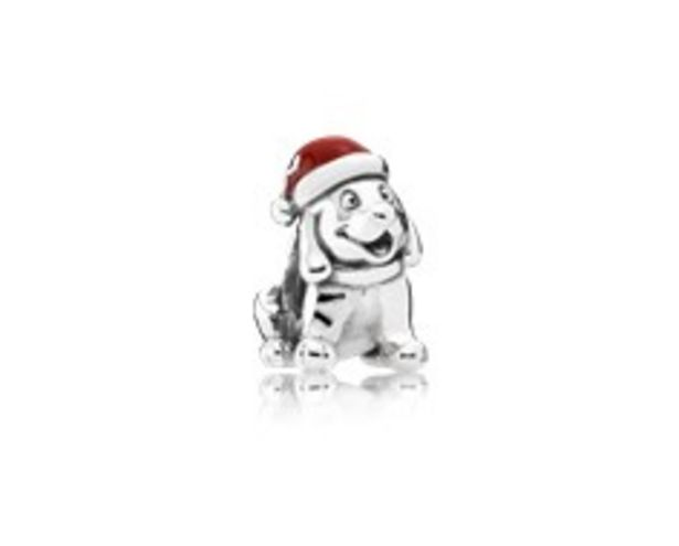 Christmas Puppy, Red Enamel discount at $50